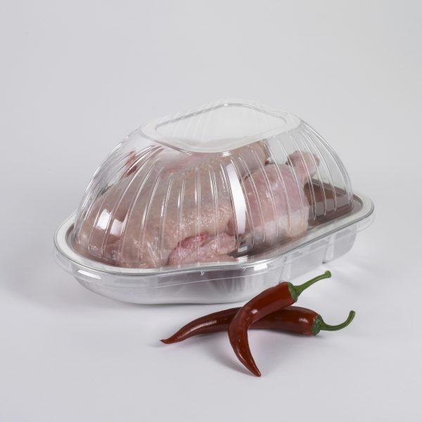 Image - Poulet dans contenant plastique