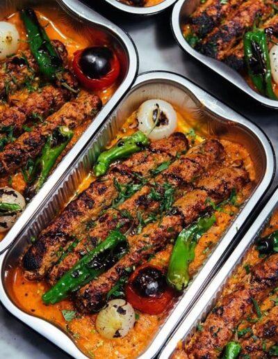 Contenant restaurant Damas