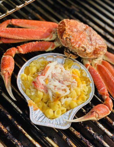Mac & crabe